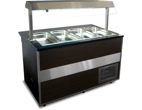 Igloo Gastroline GLC-1500 Open Gastronorm Cold Servery Counter